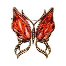 Брошь Бабочка Ветерок 2103.4
