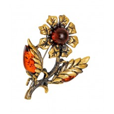 Брошь Цветок Георгин 2206.4