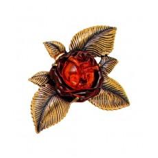 Брошь Розочка Цветение 2242.4