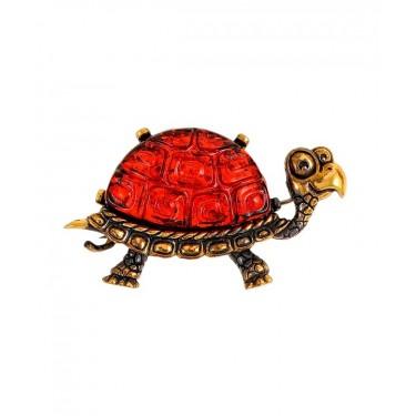 Брошь Черепаха Тортила 2203.4
