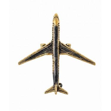 Брошь Самолёт ТУ-154 1587.4