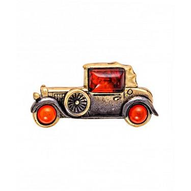 Брошь Машина ретро 2112.4