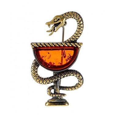 Брошь Змея в Геральдике 2469.4
