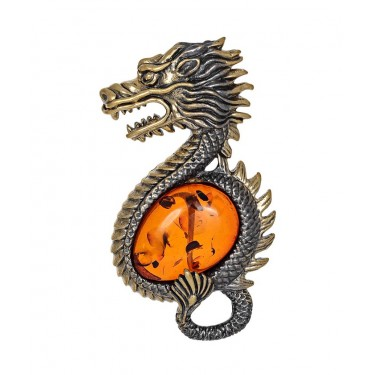 Брошь Дракон 2667.4