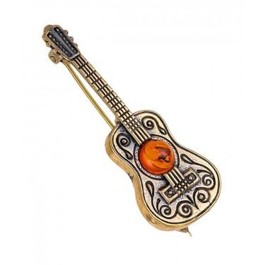 Брошь Гитара Испанца 1658.4