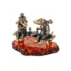 Собаки Пара шахматы 1867