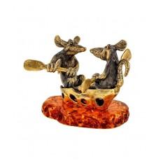 Мыши на сырной лодочке 2371