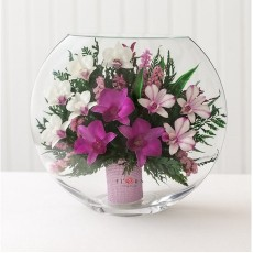 FIORA Арт: 42812(ELO-O) цветы в стекле