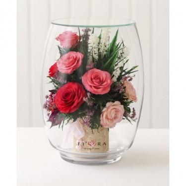 FIORA Арт: 52460(TBL-Rpl)цветы в стекле