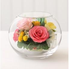 FIORA Арт:56161(BMs-M) цветы в стекле