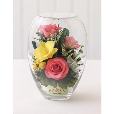 FIORA Арт:56192(ERVS-Mp) цветы в стекле