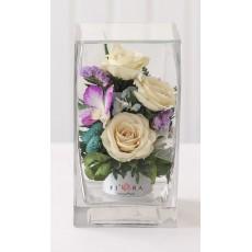 FIORA Арт: 55898 цветы в стекле