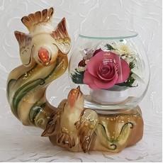 """NaturalFlowers"" Арт: BmiM-08 цветы в стекле"