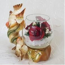 """""""NaturalFlowers"""" Арт: BmiR цветы в стекле"""
