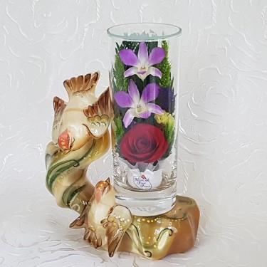 """""""NaturalFlowers"""" Арт: SLM цветы в стекле"""