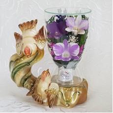 """NaturalFlowers"" Арт: CuLO цветы в стекле"