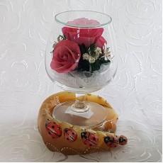 """""""NaturalFlowers"""" Арт: GSRp цветы в стекле"""