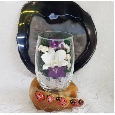 """""""NaturalFlowers"""" Арт: RmiO цветы в стекле"""