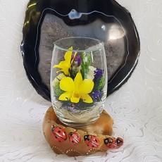 """""""NaturalFlowers"""" Арт: RmiM-01 цветы в стекле"""