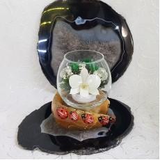"""NaturalFlowers"" Арт: BmiM-05 цветы в стекле"