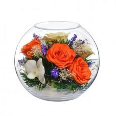 """""""NaturalFlowers"""" Арт: BNM-8 цветы в стекле"""