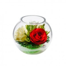 """""""NaturalFlowers"""" Арт: BSR5c-2 цветы в стекле"""