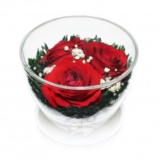 """NaturalFlowers"" Арт: CuSR-3 цветы в стекле"