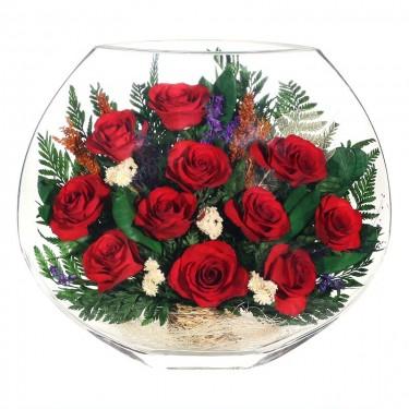 """""""NaturalFlowers"""" Арт: EMR-05 цветы в стекле"""