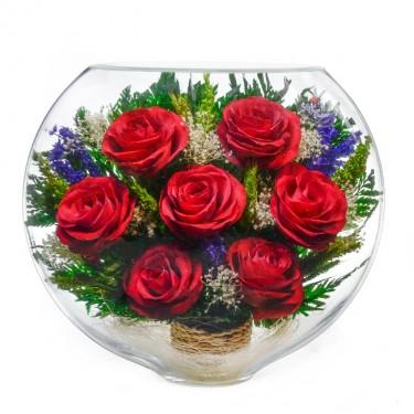 """""""NaturalFlowers"""" Арт: ESR-01 цветы в стекле"""