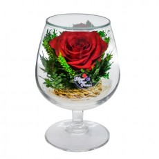 """""""NaturalFlowers"""" Арт: GSR2 цветы в стекле"""
