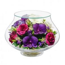 """""""NaturalFlowers"""" Арт: LLM6 цветы в стекле"""