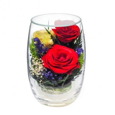 """""""NaturalFlowers"""" Арт: RmiR5c1 цветы в стекле"""