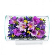 """NaturalFlowers"" Арт: TLO1 цветы в стекле"
